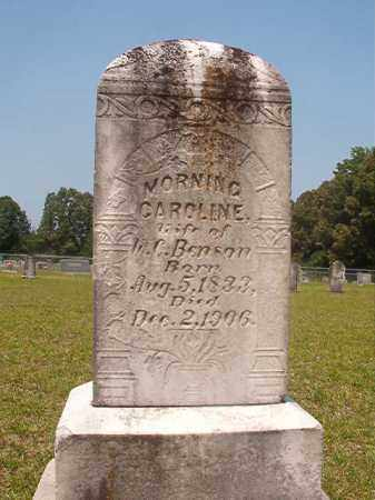 BENSON, MORNING CAROLINE - Calhoun County, Arkansas | MORNING CAROLINE BENSON - Arkansas Gravestone Photos
