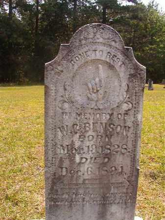 BENSON, W C - Calhoun County, Arkansas   W C BENSON - Arkansas Gravestone Photos