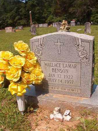 BENSON, WALLACE LAMAR - Calhoun County, Arkansas   WALLACE LAMAR BENSON - Arkansas Gravestone Photos
