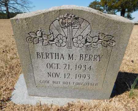 BERRY, BERTHA M - Calhoun County, Arkansas | BERTHA M BERRY - Arkansas Gravestone Photos