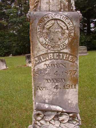 BETHEA, C L (CLOSEUP) - Calhoun County, Arkansas | C L (CLOSEUP) BETHEA - Arkansas Gravestone Photos