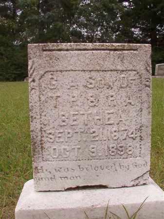 BETHEA, G A - Calhoun County, Arkansas   G A BETHEA - Arkansas Gravestone Photos