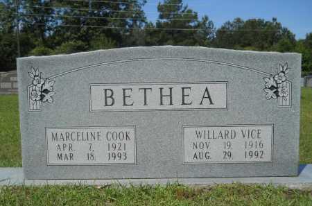 COOK BETHEA, MARCELINE - Calhoun County, Arkansas | MARCELINE COOK BETHEA - Arkansas Gravestone Photos