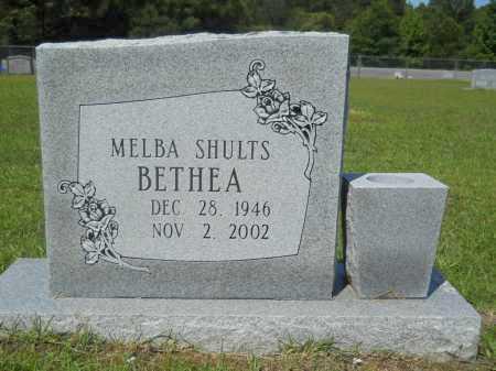 SHULTS BETHEA, MELBA - Calhoun County, Arkansas | MELBA SHULTS BETHEA - Arkansas Gravestone Photos