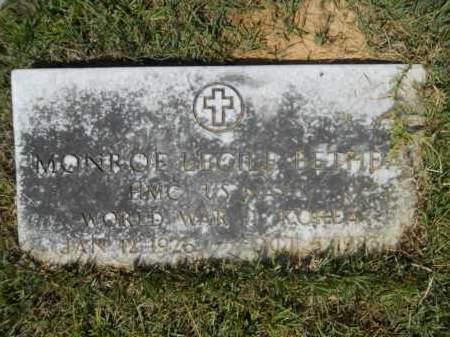 BETHEA (VETERAN 2 WARS), MONROE LECILE - Calhoun County, Arkansas | MONROE LECILE BETHEA (VETERAN 2 WARS) - Arkansas Gravestone Photos