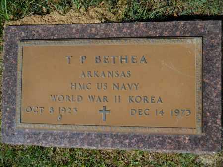 BETHEA (VETERAN 2 WARS), T P - Calhoun County, Arkansas | T P BETHEA (VETERAN 2 WARS) - Arkansas Gravestone Photos