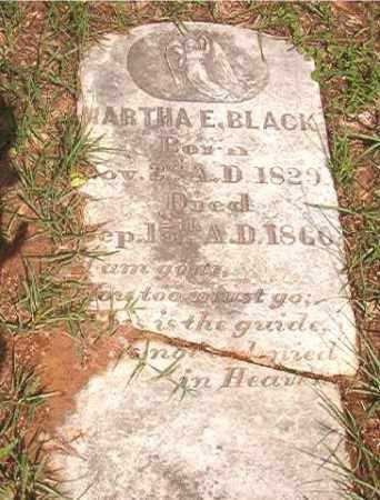BLACK, MARTHA E - Calhoun County, Arkansas | MARTHA E BLACK - Arkansas Gravestone Photos