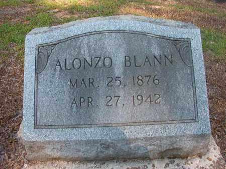 BLANN, ALONZO - Calhoun County, Arkansas | ALONZO BLANN - Arkansas Gravestone Photos