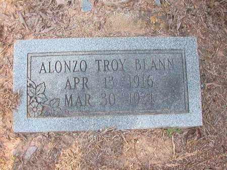 BLANN, ALONZO TROY - Calhoun County, Arkansas   ALONZO TROY BLANN - Arkansas Gravestone Photos