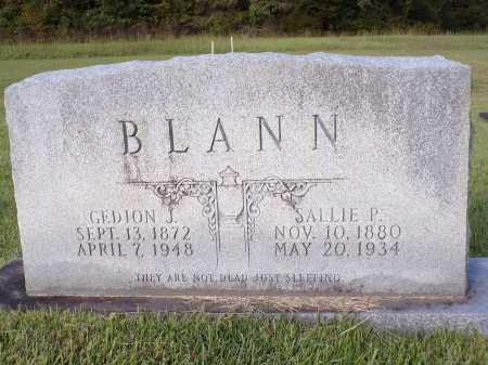 BLANN, GEDION JESSE - Calhoun County, Arkansas | GEDION JESSE BLANN - Arkansas Gravestone Photos