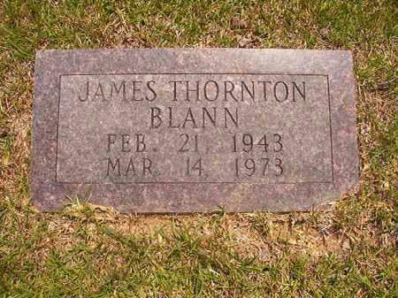 BLANN, JAMES THORNTON - Calhoun County, Arkansas | JAMES THORNTON BLANN - Arkansas Gravestone Photos