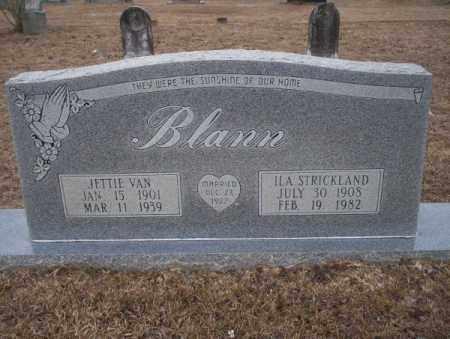 BLANN, ILA - Calhoun County, Arkansas | ILA BLANN - Arkansas Gravestone Photos