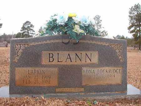 BLANN, LARKIN - Calhoun County, Arkansas | LARKIN BLANN - Arkansas Gravestone Photos