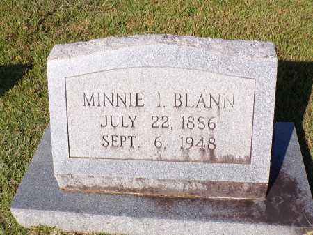 BLANN, MINNIE I - Calhoun County, Arkansas   MINNIE I BLANN - Arkansas Gravestone Photos