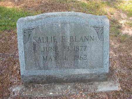 BLANN, SALLIE E (OBIT) - Calhoun County, Arkansas   SALLIE E (OBIT) BLANN - Arkansas Gravestone Photos