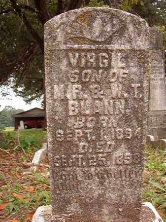 BLANN, VIRGIL - Calhoun County, Arkansas   VIRGIL BLANN - Arkansas Gravestone Photos