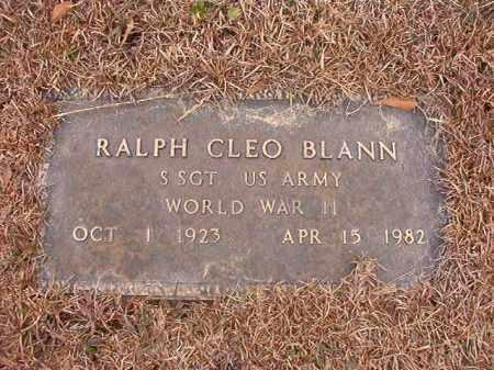 BLANN (VETERAN WWII), RALPH CLEO - Calhoun County, Arkansas | RALPH CLEO BLANN (VETERAN WWII) - Arkansas Gravestone Photos