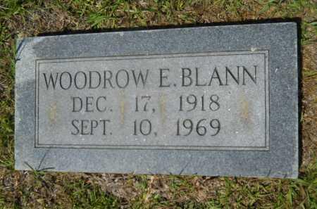 BLANN, WOODROW E - Calhoun County, Arkansas | WOODROW E BLANN - Arkansas Gravestone Photos