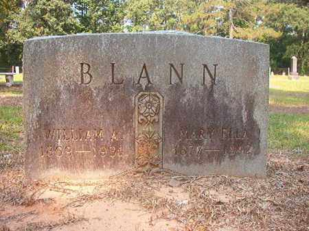 BLANN, MARY ELLA - Calhoun County, Arkansas   MARY ELLA BLANN - Arkansas Gravestone Photos