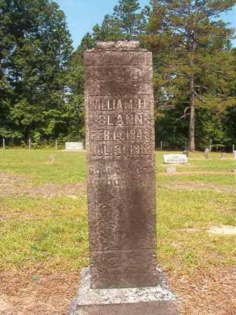 BLANN, WILLIAM H - Calhoun County, Arkansas   WILLIAM H BLANN - Arkansas Gravestone Photos