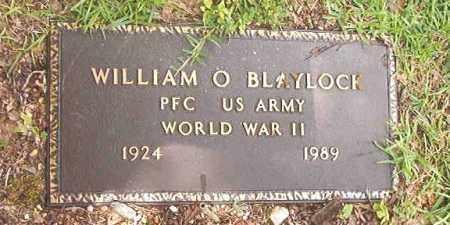 BLAYLOCK (VETERAN WWII), WILLIAM O'NEAL - Calhoun County, Arkansas   WILLIAM O'NEAL BLAYLOCK (VETERAN WWII) - Arkansas Gravestone Photos