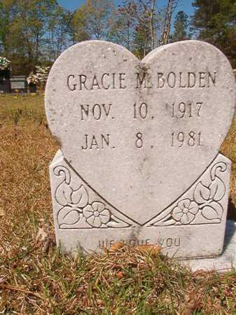 BOLDEN, GRACIE M - Calhoun County, Arkansas   GRACIE M BOLDEN - Arkansas Gravestone Photos