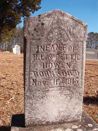BOWEN, INFANT - Calhoun County, Arkansas   INFANT BOWEN - Arkansas Gravestone Photos