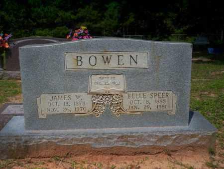 BOWEN, JAMES W - Calhoun County, Arkansas   JAMES W BOWEN - Arkansas Gravestone Photos