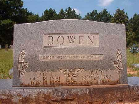 BOWEN, IDA F - Calhoun County, Arkansas | IDA F BOWEN - Arkansas Gravestone Photos
