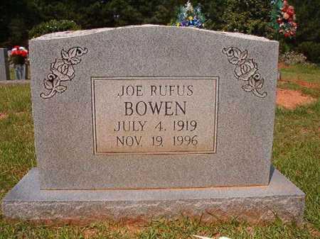 BOWEN, JOE RUFUS - Calhoun County, Arkansas   JOE RUFUS BOWEN - Arkansas Gravestone Photos