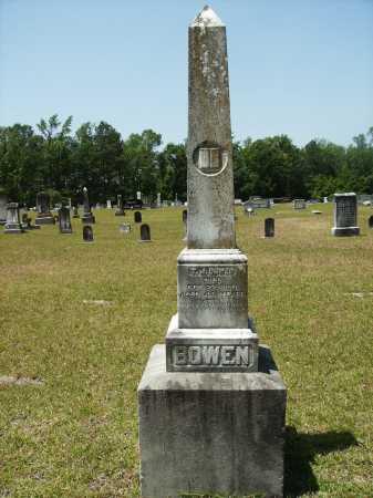 BOWEN, T J - Calhoun County, Arkansas   T J BOWEN - Arkansas Gravestone Photos