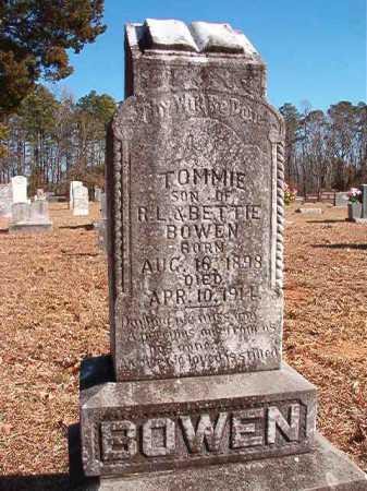 "BOWEN, THOMAS R ""TOMMIE"" - Calhoun County, Arkansas   THOMAS R ""TOMMIE"" BOWEN - Arkansas Gravestone Photos"