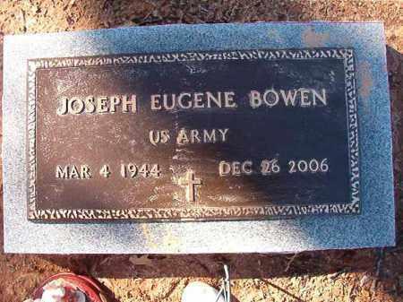 BOWEN (VETERAN), JOSEPH EUGENE - Calhoun County, Arkansas | JOSEPH EUGENE BOWEN (VETERAN) - Arkansas Gravestone Photos