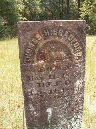 BRADFORD, THOMAS H - Calhoun County, Arkansas | THOMAS H BRADFORD - Arkansas Gravestone Photos