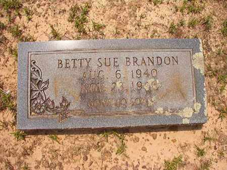 BRANDON, BETTY SUE - Calhoun County, Arkansas | BETTY SUE BRANDON - Arkansas Gravestone Photos