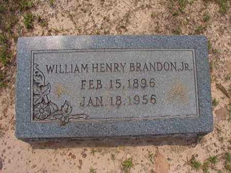 BRANDON, JR, WILLIAM HENRY - Calhoun County, Arkansas   WILLIAM HENRY BRANDON, JR - Arkansas Gravestone Photos
