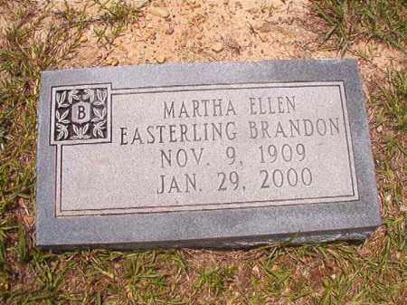 BRANDON, MARTHA ELLEN - Calhoun County, Arkansas   MARTHA ELLEN BRANDON - Arkansas Gravestone Photos