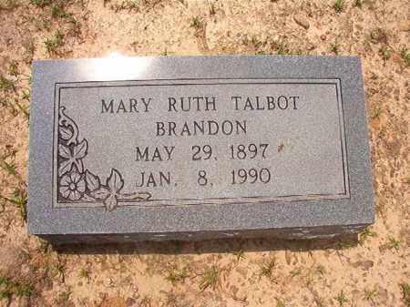 TALBOT BRANDON, MARY RUTH - Calhoun County, Arkansas | MARY RUTH TALBOT BRANDON - Arkansas Gravestone Photos