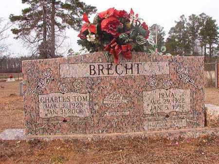 BRECHT, IRMA - Calhoun County, Arkansas | IRMA BRECHT - Arkansas Gravestone Photos