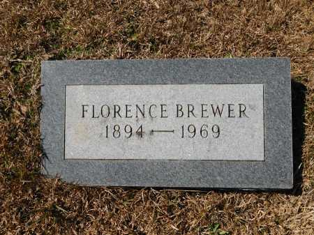 BREWER, FLORENCE - Calhoun County, Arkansas | FLORENCE BREWER - Arkansas Gravestone Photos