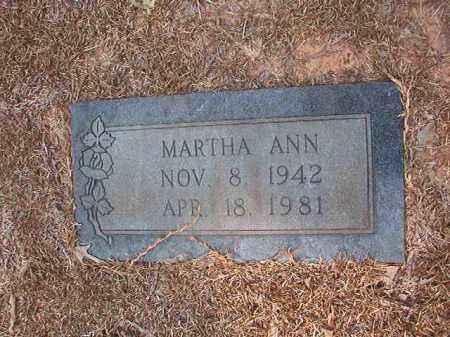 BRIDWELL, MARTHA ANN - Calhoun County, Arkansas   MARTHA ANN BRIDWELL - Arkansas Gravestone Photos