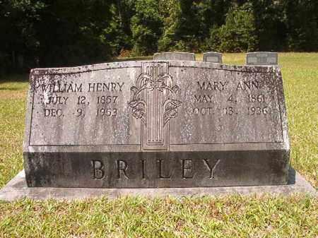 BRILEY, MARY ANN - Calhoun County, Arkansas   MARY ANN BRILEY - Arkansas Gravestone Photos