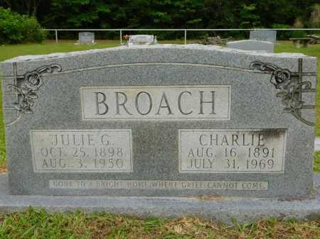 BROACH, JULIE - Calhoun County, Arkansas | JULIE BROACH - Arkansas Gravestone Photos