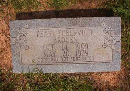 TUBERVILLE BROOKS, PEARL - Calhoun County, Arkansas | PEARL TUBERVILLE BROOKS - Arkansas Gravestone Photos
