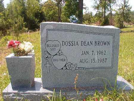 BROWN, DOSSIA - Calhoun County, Arkansas | DOSSIA BROWN - Arkansas Gravestone Photos