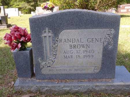 BROWN, RANDAL GENE - Calhoun County, Arkansas   RANDAL GENE BROWN - Arkansas Gravestone Photos