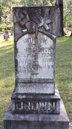BROWN (VETERAN), ARTHUR M - Calhoun County, Arkansas   ARTHUR M BROWN (VETERAN) - Arkansas Gravestone Photos