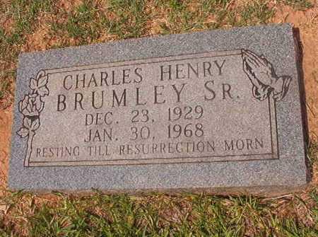BRUMLEY, CHARLES HENRY - Calhoun County, Arkansas | CHARLES HENRY BRUMLEY - Arkansas Gravestone Photos