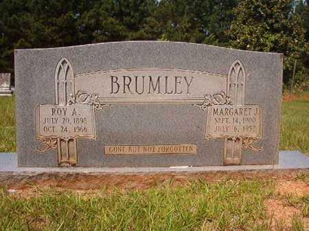 BRUMLEY, MARGARET J - Calhoun County, Arkansas   MARGARET J BRUMLEY - Arkansas Gravestone Photos