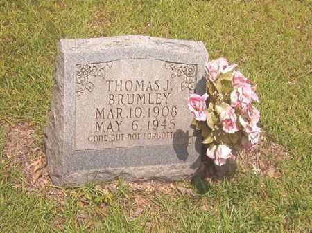 BRUMLEY, THOMAS J - Calhoun County, Arkansas | THOMAS J BRUMLEY - Arkansas Gravestone Photos
